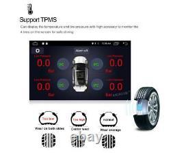 10.1in Rotatable 2DIN Car Radio Stereo MP5 Player GPS SAT NAV Bluetooth+Camera