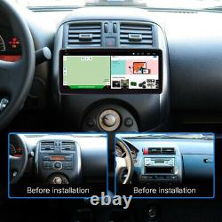 10.25in Android 9.1 Car Radio Stereo GPS Navigation MP5 Player FM WiFi Quad Core