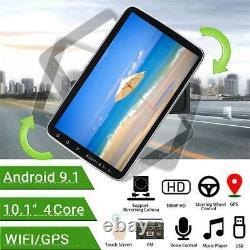 10in 1Din Car Radio Stereo Touch Screen BT MP5 Player GPS Navi Wifi FM USB+Cam
