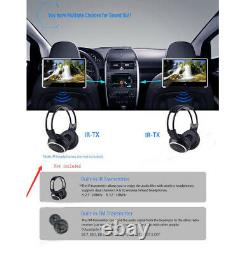 11.6 Inch Car Headrest IPS Monitor DVD Player HD 1080P Video Touch Screen HDMI