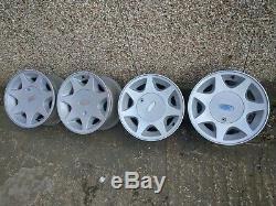 13 RS7 ET5 alloys 4x108 et18 FORD fiesta sierra escort 7J wide orion xr3 CAPRI