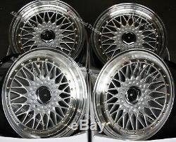 17 GR RS Alloy Wheels For Ford B max Cortina Courier Ecosport Escort 4x108