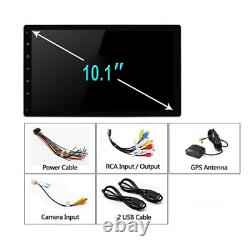 1DIN Car Stereo MP5 Player Android 9.1 10in WiFi BT GPS Navi FM Radio Head Unit