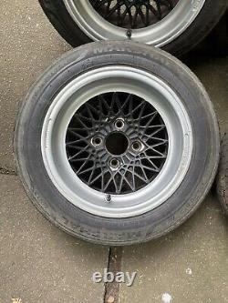 4x108 13x7 Compomotive Cx Wheels Ford Mk1 Mk2 Escort Cortina Capri Fiesta Anglia