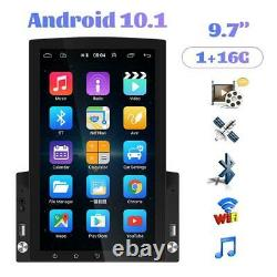 9.7in Android 10.0 1+16GB Quad Core GPS Bluetooth Car Stereo MP5 Player FM Wifi