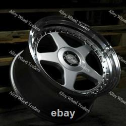Alloy Wheels 17 F5 For Ford B max Cortina Courier Ecosport Escort 4x108 SP