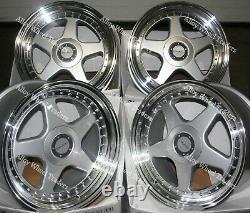 Alloy Wheels 17 F5 For Ford B max Cortina Courier Ecosport Escort 4x108 Spl