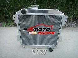 Alu Radiador For Ford Escort 1600 Capri MK2/MK3 GECP Cortina OHV 1.3/1.6/2.0L MT