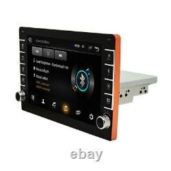Android 8.1 9in 1DIN Car Wifi Radio Stereo GPS NAVI Bluetooth MP5 With 4LED Camera