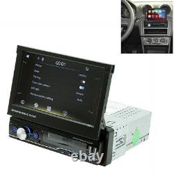 Bluetooth Touch Screen 1Din 7in Car Radio Stereo USB AUX Mirror Link MP5 Player