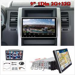 Car Stereo Radio Android 9.1 2GB+32GB GPS Navi Bluetooth Wifi 3G/4G DAB OBD 1Din