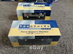 Corgi Vanguards Ford Chrome Club cars Escort Capri Cortina Sierra 143 Boxed