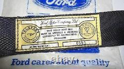 Cortina Escort Capri Genuine Ford Nos Front Retractable Seat Belt Assy