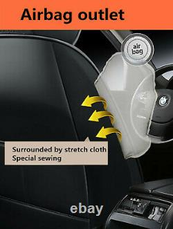 Deluxe Edition Seat Cushion PU Leather Car Seat Covers For Interior Accessories