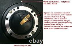 Dished Snap Off Steering Wheel And Boss Kit Fit Mazda Escort Cortina Mk1 Mk2