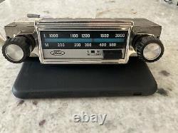 Ford 1968 LWithMW Tuner Radio Ford Cortina Mk2 1600e, GT, Lotus, Escort 1300e etc