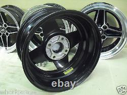 Ford Capri Cortina Escort Etc 7x15 Alloy Wheel Set Jbw Rs4 Spoke Style 15x7