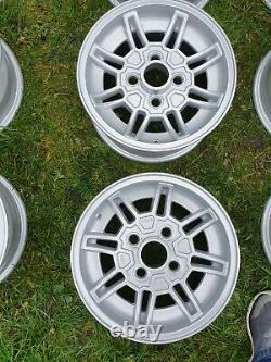 Ford Capri mk3 Ghia Alloy Wheels 5.5 x 13 Escort Cortina Fiesta Brisca Gxl sport