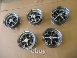 Ford Cortina mk2 1600E Rostyle Chrome Wheels set of 5