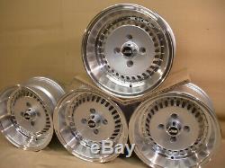 Ford Escort Capri Cortina 13x7 7x13 Deep Dish Jbw Os4 Turbo Alloy Wheels, Silver