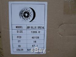 Ford Escort Capri Cortina 6x13 Jbw Rallye Special Alloy Wheel Set 13x6 Et16