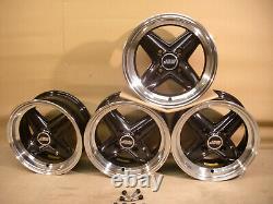 Ford Escort Capri Cortina Revolite 6x13 Alloy Wheel Set 13x6 Et16 Jbw