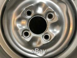 Ford Escort Cortina Lotus Twincam steel wheels 5.5 X 13 Mk1 Mk2