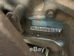 Ford Escort, Cortina, etc. Crossflow 1300 Kent Engine 711M