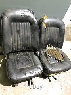Ford escort Mk1 Mk2 Cortina retro seats