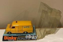 Lot 7 Vintage 1/43 Ford Dinky Zodiac Escort Police Taunus Transit Corgi Cortina