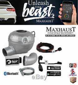 Maxhaust Active Sound Booster V8 Simulation Sound Option Bluetooth App-frd1