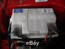 NOS White Battery Ford Escort MK1 MK2 Capri Cortina Fiesta Taunus 54AH
