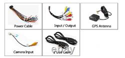 Quad-core 10.1in Single 1Din Android 9.1 Car MP5 Player Stereo Radio GPS WIFI BT