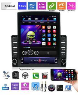 Quad-core 2GB ROM 32GB 9.7 Android 9.1 Car MP5 Player Stereo Radio GPS Nav WIFI