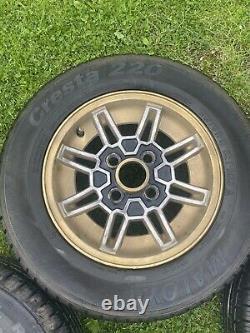 Rare Classic Ford 13 Alloy Wheels X4 Escort Mk1 Mk2 Capri Cortina 76edbd