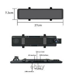 Rear View Mirror Dash Cam Video Camera Recorder Car DVR WIFI ADAS BT GPS SAT NAV