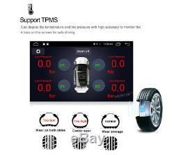 Touch Screen 9 Single Din Quad-Core Adjustable Android 8.1 Car GPS Wifi BT DAB