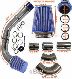 UNIVERSAL PERFORMANCE COLD AIR FEED INDUCTION INTAKE KIT 2103007B â Ford 1