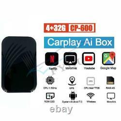 Version Car 4+32GB Quad-Core Carplay Ai Box Android System Wireless Mirror Link