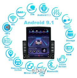 Vertical Screen 9.7 Android 9.1 Car Stereo Radio GPS Wifi 4G BT DAB 2GB /32GB