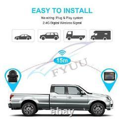Waterproof Car Truck WiFi Wireless Reverse Camera +3.5 LCD Rearview Monitor Set