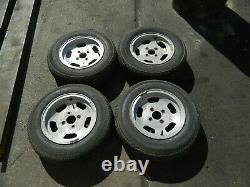 Wolfrace Alloy Wheels Set Ford Fitting Escort Cortina Kit Car Stockcar 5 1/2 J