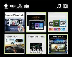 10.1 Voiture Radio 2 Din Android 9.1 Gps Stereo Navi Lecteur Mp5 Wifi Fm 4-core 32gb