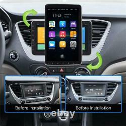 10.1inch Voiture Stéréo Android 9.1 Mp5 Player Wifi Gps Fm Radio Rotatable Head Unit
