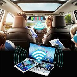 11.66 Voiture Dvr Dash Caméra 4g Wifi Gps Navi Bt Rétroviseur Enregistreur Adas