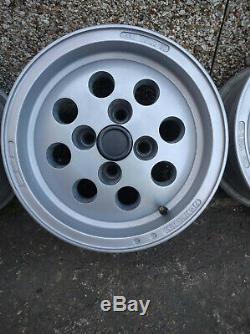 13 7j Et5 Ford Pepperpot Alliages 4x108 Courrier Fiesta Escort Capri Sierra Taunus