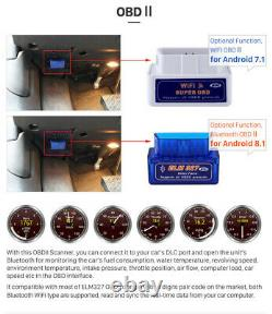 1din Voiture Stereo Mp5 Lecteur Android 9.1 10in Wifi Bt Gps Navi Fm Radio Chef D'unité