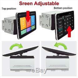 2 Din 9in Android 8.1 Car Stereo Bluetooth Lecteur Gps Sat Nav Wifi Miroir Lien