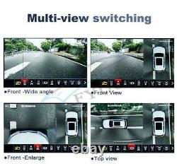 360°panoramic 3d 4 Camera Car Dvr Rearview Camera Recording Parking Withguide Line