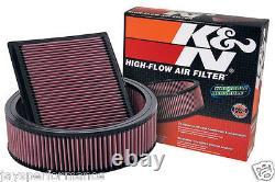 56-1652 K & N Kit De Filtre À Air Personnalisé Pour Glucides Canon Simple Et Jumeau